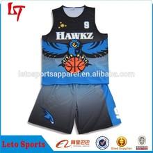New Arrival custom player sleeveless basketball uniform&sets basketball training tops &shorts