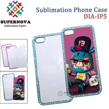 Custom Printed Diamond Mobile Phone Case for iPhone 5