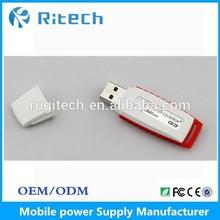 custom designs USB plastic flash drive, hp USB disk
