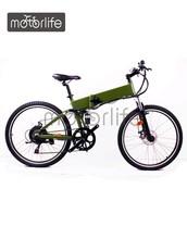 MOTORLIFE/OEM brand EN15194 250W 26inch electric motorbike