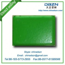 Low Gloss green powder coating paint