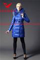 2014 de largo abajo chaqueta delgada para mujeres / abrigos de invierno