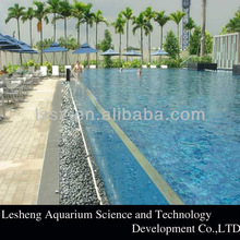 Transparent Acrylic Glass Diving and Swimming Pool Panels