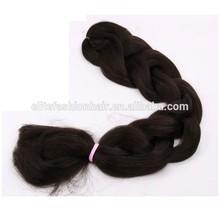 Kanekalon super jumbo braid x-pression braiding hair, kanekalon hair braid