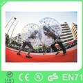 2014 barato personalizada humana burbuja balón, fútbol burbuja inflable para la venta