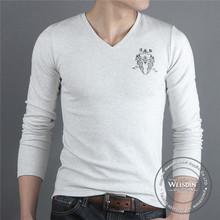 printed china wholesale popular fashionable women long sleeve tshirts