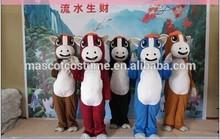 hot sales horse mascot costume horse cosplay cartoon lovely horse cartoon costume