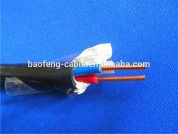 pvc insulation 2 core electric wire 2.5mm CCA conductor
