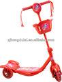 EN71 üç tekerlekli kick scooter müzik ve ışık