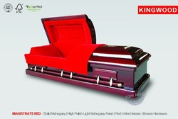 MAGISTRATE RED funeral casket hardware