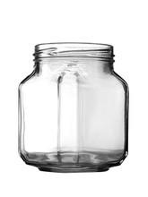 380ml 13 OZ Square Glass Jar Food Jar Glass Container Jam Jar