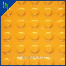 300*300 ceramic acid proof yellow strip paving tiles