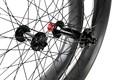 カーボンバイクのホイール脂肪22mm雪台湾自転車ホイール幅85ミリメートル二重壁脂肪バイクカーボンホイール