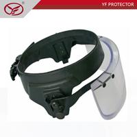 Ballistic protective bulletproof face shield helmet visor police soldier face visor