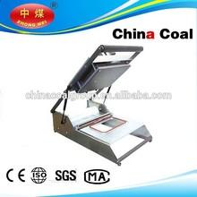 food tray wrap machine, HS-300 manual fast food tray sealing machine