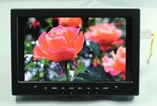 "10.1""HD lcd monitor HDMI+VGA+2AV+Ypbpr+Audio+USB input for SLR/video camera"