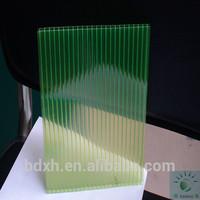 green plastic ceiling panel glow plastic sheet for raffle