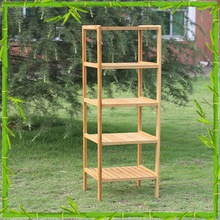 Wholesale Natural Bamboo Sturdy Bamboo Square Shape Storage Organizer