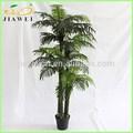 interiores grandes artificiales decorativas palmeras del tronco de plástico al por mayor