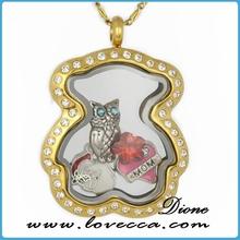 pendants & charms christian cross glass memory locket locket ring locket pendant