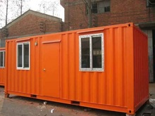 20 foot steel container home with Australia standard for workers dormitory on construction site