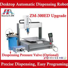 2014 ending promotion glue dispenser ZM-300ED hot melt glue dispensing 3 axis robot