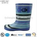 Ch. C(18) tarja impressão de chuva de borracha boot para crianças