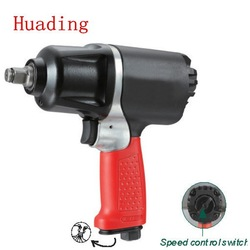 "air tools 1/2"" heavy duty composite twin hammer air impact wrench"