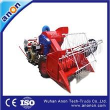 ANON Wheat and Rice Hot Hot! Walking Type Full-feeding mini rice paddy cutting machine