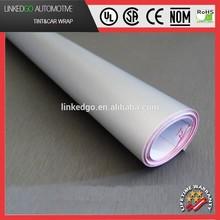 Good Stretchability 1.52*30M Silver Vinyl Wrap Self Adhesive Matte Car Vinyl Wrap