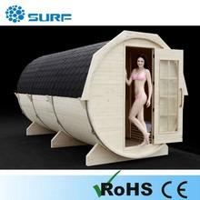 Hot sale new design 6-10 person sauna showers outdoor home sauna europe sauna
