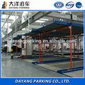 Directo de fábrica- hidráulica vertical- horizontal nivel dos equipos de estacionamiento