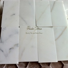 Good Price 3x6 Calacatta Gold Marble Wall Tile