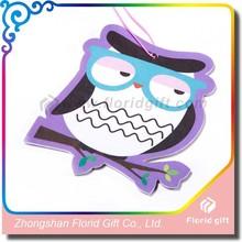 Funny logo design paper air freshener/air freshener type paper air freshener