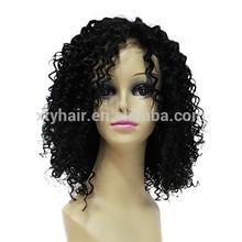 Alibaba express wholesale brazilian human hair short curly afro kinky wigs for black women