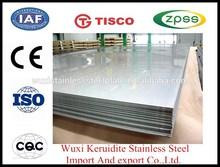 stainless steel sheet ; TISCO stainless steel 304 sheet ; JISCO stainless steel 316L sheet