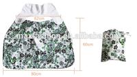 Hot Sales 100% Organic Cotton easy nursing covers