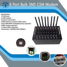 Made in China más barato de la alta calidad de descarga 7.2 mbps internet tv 8 port gsm modem
