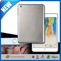 C&T New Arrival clear tpu flexibe fit gel back soft case for ipad mini 3