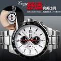 De aço inoxidável preço barato personalizado relógios movimento automático