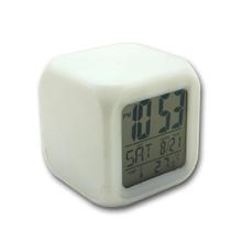 Customized Plastic Glowing Led Color Change Digital Alarm Clock