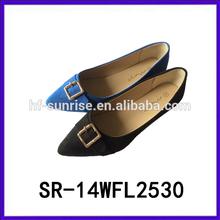 Nice casual shoes footwear elegant design ladies flat shoes