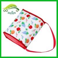 Waterproof portable lunch cooler bag aluminum foil box cooler bag