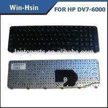Repair laptop keyboard for HP dv6-6000 dv7-6000 notebook keyboard