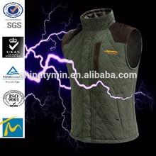 Hot sale warmer windbreaker high quality vest mens winter