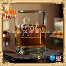 Hot vente meilleur prix scotch whisky tumbler avec logo personnalisé