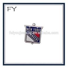 Enamel New York Rangers Pendant