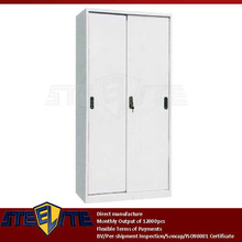 vertical storage cabinet sliding doors designs /wall mounted sliding door steel stationary cupboard