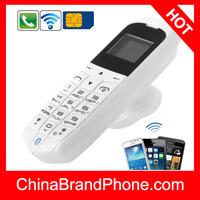 LONG-CZ J8 Mini Phone with Hands Free Bluetooth Dialer + Bluetooth Headphone