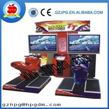 MANX Super Bike TT Motor racing game machine